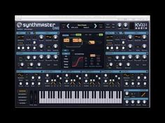 SynthMaster: All around software synthesizer voted 'Best Synth of 2016' by MusicRadar and MusicTech readers!