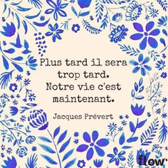 Citation – Flow Magazine France's Photos – Flow Magazine France Positive Mind, Positive Attitude, Planner Stickers, Positiv Quotes, Quote Citation, France Photos, French Quotes, French Sayings, Some Words