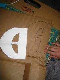 Happily Ever Crafter: DIY: Building a Medieval Helmet Out of Cardboard Medieval Banner, Medieval Art, Shrek Costume, Hiccup Costume, Costumes, Costume Ideas, Celtic Costume, Knight Shield, Medieval Helmets