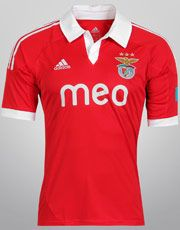 Netshoes - Camisa Adidas Benfica Home 12/13 s/nº