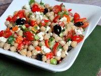 http://www.recipegirl.com/2014/05/19/mediterranean-chickpea-salad/