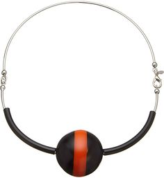 Marni Horn and Silver-Plated Brass Necklace - for Women