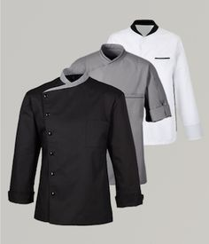 roupa de chef feminina - Pesquisa Google Cafe Uniform, Hotel Uniform, Uniform Shirts, Men In Uniform, Corporate Uniforms, Corporate Wear, Chef Costume, Polo Shirt Design, Restaurant Uniforms