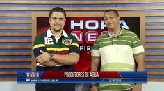 Entrevista com Vitor e Ailton, quando foram classificados para o premio capixaba de jornalismo de 2013