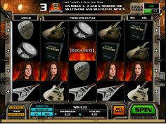 Získajte s skvelou hudbou vysoké výhry iba s naším online automatom Megadeth! http://www.automatove-hry-zadarmo.com/hry/hraci-automat-megadeth #megadeth #automatovehry #vyhra