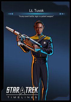 Lt. Tuvok (Tim Russ) from Star Trek: Voyager