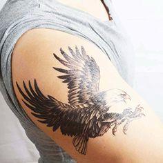 Amazon.com : COKOHAPPY Large Temporary Tattoo 4 Different Sheets, Cobra Snake Eagle Bird Hawk Wing Eye Totem Scorpion for Men Women : Beauty
