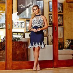 Dress to impress!! ✨ {vestido de bandagem para impressionar} #vemserfinna #finna2016