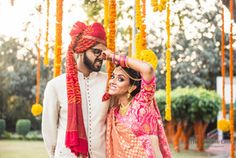 Delhi NCR weddings | Apurv & Manini wedding story | WedMeGood