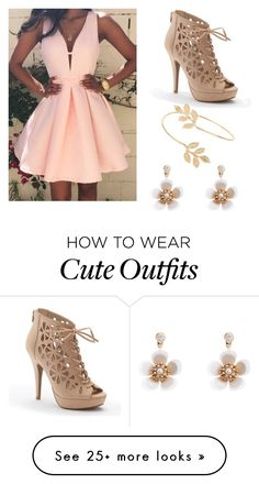 """Super cheap OUTFIT!"" by annasteckler on Polyvore featuring Apt. 9, Miss Selfridge, Accessorize and Dressunder50"