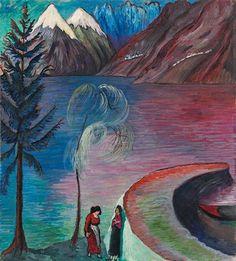 Marianne von Werefkin, À l'aube, c. 1914
