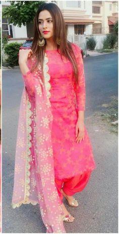 Shop salwar suits online for ladies from BIBA, W & more. Explore a range of anarkali, punjabi suits for party or for work. Salwar Designs, Patiala Suit Designs, Kurti Designs Party Wear, Blouse Designs, Latest Salwar Suit Designs, Patiala Salwar Suits, Latest Salwar Kameez, Punjabi Fashion, Indian Fashion Dresses