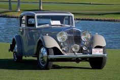 1934 Bentley 3.5 Litre Park Ward Sports Saloon - gray - (6)