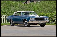 1970 Chevrolet Chevelle LS6 Convertible 454/450 HP, 4-Speed