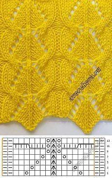 "Pattern 732 ""openwork with braids"" knitted catalog ., Pattern 732 ""openwork with braids"" knitted catalog . - # openwork # knitted # catalog # braids # s. Lace Knitting Stitches, Lace Knitting Patterns, Knitting Charts, Lace Patterns, Easy Knitting, Knitting Designs, Stitch Patterns, Avercheva Ru, Real Beauty"
