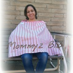 Check out this item in my Etsy shop https://www.etsy.com/listing/108177850/mommyz-bib-nursing-cover-pink-stripes