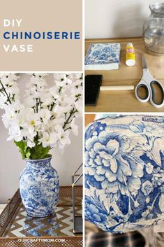 Discover recipes, home ideas, style inspiration and other ideas to try. Easy Crafts, Diy And Crafts, Upcycled Crafts, Decoupage Glass, Decoupage Furniture, Decoupage Ideas, Decoupage Art, Painted Furniture, Furniture Design