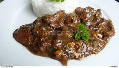 Králičí játra po chalupářsku Pork, Cooking Recipes, Beef, Essen, Kale Stir Fry, Meat, Chef Recipes, Pork Chops