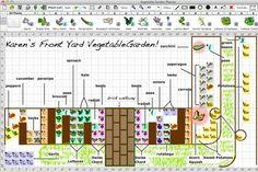 Front Yard Veggie Garden Planning