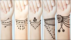 In this video, I will make Beautiful Easy Tattoo Mehndi Design -------------------------------------------------------- Popular Beautiful Heena Mehndi Tattoo. Henna Tattoo Designs Simple, Latest Henna Designs, Back Hand Mehndi Designs, Finger Henna Designs, Mehndi Designs For Girls, Mehndi Designs For Beginners, Modern Mehndi Designs, Dulhan Mehndi Designs, Mehndi Designs For Fingers