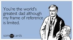 17 Father's Day cards funnier than his jokes. perfect fathers day gift, fathers day gifts for church, mothers day gifts preschool Father's Day cards funnier than his jokes. Fathers Day Ecards, Happy Fathers Day Funny, Funny Fathers Day Quotes, Dad Quotes, Funny Quotes, Jokes Quotes, Life Quotes, Funny Dad Memes, Father's Day Memes