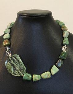 Chunky Bead Necklaces, Chunky Jewelry, Beaded Necklaces, Handmade Necklaces, Boho Jewelry, Beaded Jewelry, Jewelery, Jewelry Design, Wood Necklace