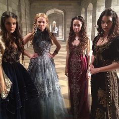 Lady Kenna, Greer, Lady Lola and Queen Mary ~ Reign