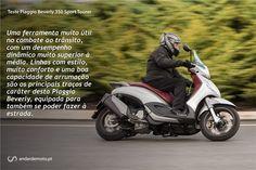 Piaggio Beverly 350 Sport Tourer - Agilidade e desempenho - Test drives - Andar de Moto