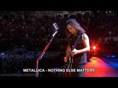 ( SUSCRIBETE ) .. nothing else matters de metallica traducida subtitulada al español , video del concierto realizado en francia , En el ARENA DE NIMES en el ...