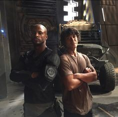 Ricky Whittle & Bob Morley