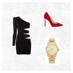 """""""Untitled #3"""" by samrahrnjicic ❤ liked on Polyvore featuring Balmain and Michael Kors"""