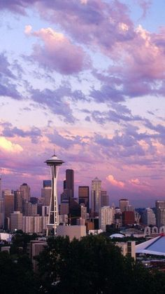 Seattle... lovely city!
