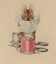A Year From Oak Cottage: Poetry Saturday . . . Diary of a Church Mouse