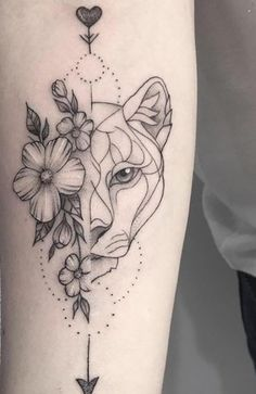 Dainty Flower Tattoos, Tribal Flower Tattoos, Simple Flower Tattoo, Beautiful Flower Tattoos, Pretty Tattoos, Cute Tattoos, Heart With Flowers Tattoo, Lion Tattoo With Flowers, Small Tattoo Designs