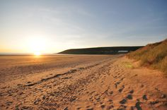 Saunton Sands in glorious North Devon - amazing any time of the year...