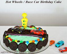 simple hot wheels birthday cake - Google Search