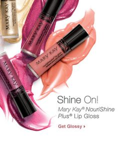 Get brilliant shine and an instant boost of moisture that leaves lips feeling nourished.  Loaded with good-for-you ingredients. Smooths, protects and conditions lips. Rich, intense, long-wearing shades In a range of finishes – from no shimmer to shimming sparkle Custom-bottle fits in Mary Kay® Compact and Compact Pro®.