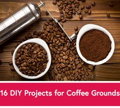 Coffee Grounds DIY P