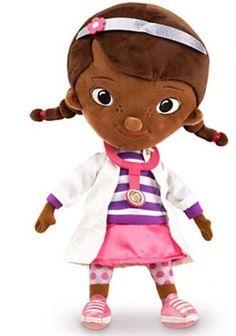 Disney Doc McStuffins Plush Doll - Small - 12'' Disney Store Product (NWT) #Disney