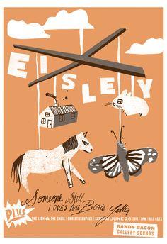 Eisley<3 and Boris Yeltsin! What an amazing lineup.