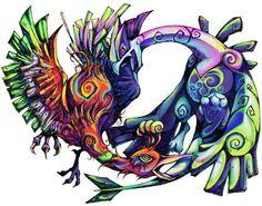 Ho Oh Tattoo Wind waker-style ho-oh & lugia. ho-oh & lugia · found on ...