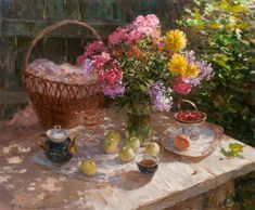 Mikhailichenko Sergey Viktorovich / Михайличенко Сергей Викторович is an Ukrainian painter, born in Tashkent. He graduated from the Tashkent Republican XY. Studied with M. Dimov, 1990. For some time he worked in Italy. Since 1996 lives and works in Sumy. His works are in numerous private collections in Ukraine, Russia, Italy, Germany, Japan and the UK.