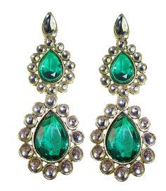 Avaa Double Drop Earrings