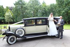 A Kensington Car classic - and a stunning choice for our couple's classic theme... Read the full blog here: http://www.thebowdonrooms.co.uk/a-dream-come-true-for-katie-and-mark/