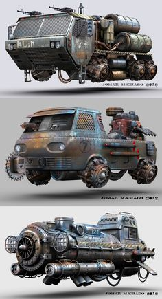 In the last days. Heavy Metal, Fallout, Garage Windows, Steampunk, Flying Car, Futuristic Cars, Armored Vehicles, Future Car, Sci Fi Fantasy
