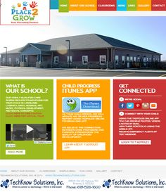 A Place to Grow Website #techknowsolutions