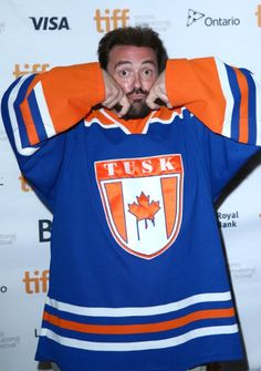 Kevin Smith at event of Tusk (2014)