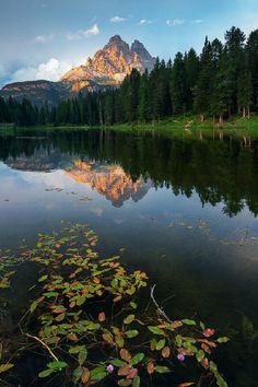 sublim-ature: Lake Antorno, ItalyEnrico Montanari