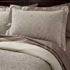 Fieldcrest® Luxury Ogee Duvet Cover Set