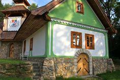 Open-air museum folk architecture  Starý Klíž-Slovakia